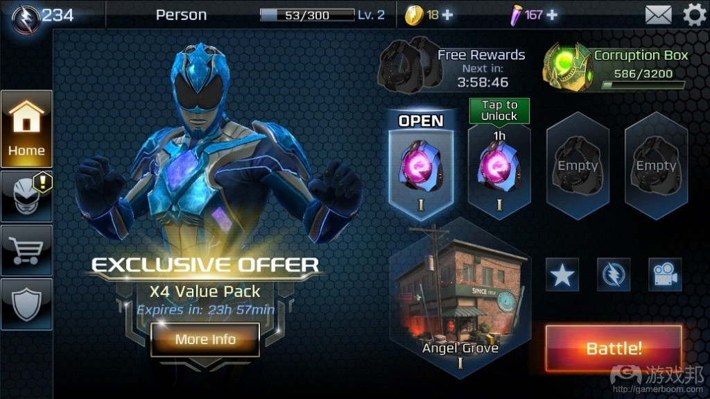 Power Rangers: Legacy Wars(from gamasutra.com)