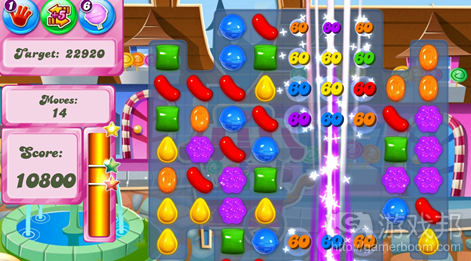 Candy Crush Saga(from pocketgamer.biz)