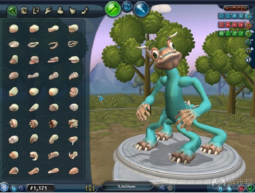 Spore(from gamedevelopment.tutsplus.com)