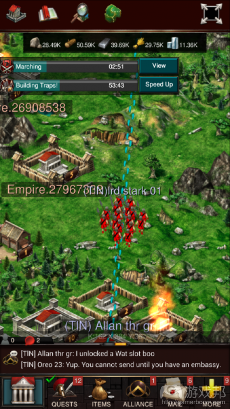 Game of War(from pocketgamer.biz)