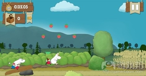 Moomin Adventures: Jam Run(from pocketgamer.biz)