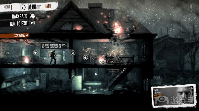 This War of Mine(from gamasutra.com)