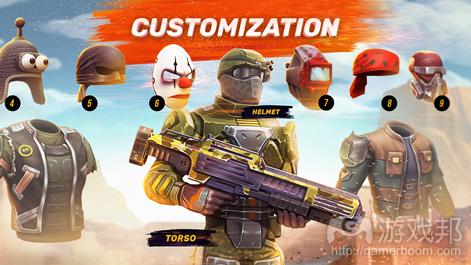 Guns of Boom(from pocketgamer.biz)