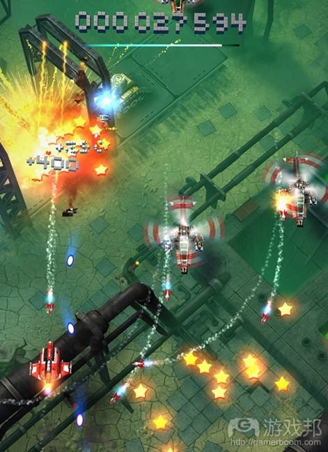Sky Force Reloaded(from pocketgamer.biz)