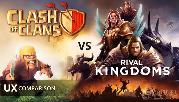 Clash of Clans Vs Rival Kingdoms(from linkedin)
