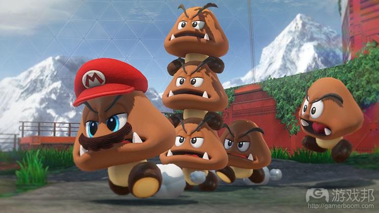 Super Mario Odyssey(from gamasutra.com)