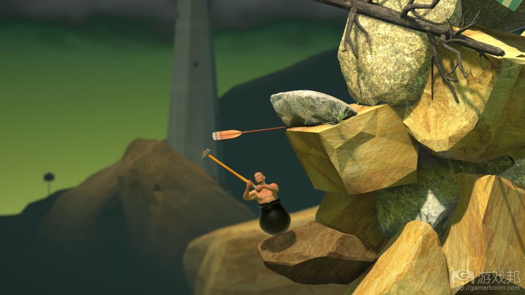 Getting Over it with Bennett Foddy(from gamasutra.com)
