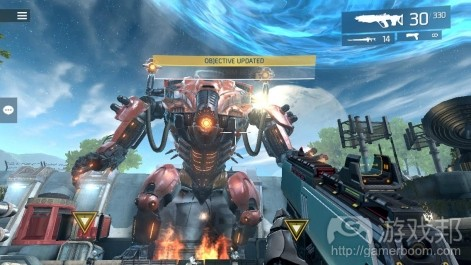 Shadow gun Legends(from pocketgamer.biz)