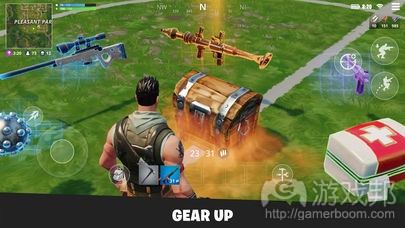 Fortnite(from apple.com)