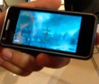 Aava Mobile对外展示了智能手机运转魔兽世界的良好性能