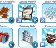 迎接圣诞,CityVille游戏道具仓储空间翻升至250件