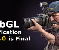 WebGL 1.0发布规范支持无插件3D硬件图像加速性能