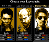 The Expendables敢死队由break推出facebook版游戏
