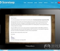 每日观察:关注RIM收购Scoreloop等消息(6.8)