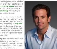techcrunch:半数以上facebook用户同时也是社交游戏玩家
