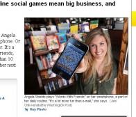 华盛顿邮报:以farmville为代表的社交游戏蕴含着巨大商机