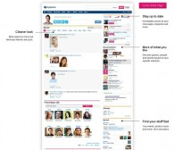 MySpace主页改版预览:设计更加简洁与新增游戏等推荐