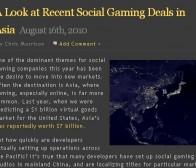 社交游戏发展新趋势:亚洲成为最被寄予厚望的未来新空间