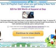 社交游戏公司playfish通过Groupon团购交易进行营销