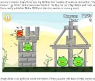 出版商确认Angry Birds将于秋季推出PlayStation版本