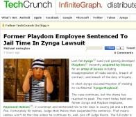 techcrunch:前playdom员工涉嫌窃取zynga机密被判入狱