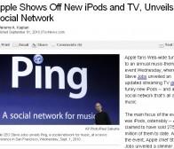 新版Ipod发布会,苹果推出社交游戏中心Game Center