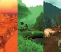 探索《魔兽世界》扩展内容Cataclysm的彩色世界