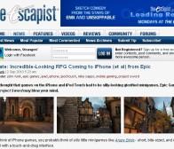 Epic games推出3D超炫视觉的iphone游戏Project Sword