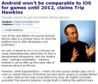 人物专访:Trip Hawkins谈android对游戏运营的相关弊端