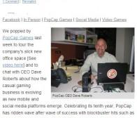 人物专访:PopCap Games首席执行官谈公司运营十年成就