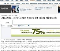 华尔街日报:亚马逊聘任前微软游戏主管Andre Vrignaud