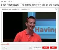 TED会议:Seth Priebatsch谈游戏中的用户协作社交机制