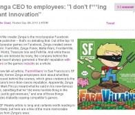zynga前员工爆料zynga模式就是模仿他人创意再重金运营