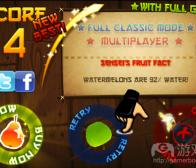 阐述《水果忍者》等游戏UI设计的巧妙之处
