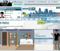 Playdom公司推出了新的facebook游戏应用big city life