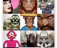 列举游戏美术求职人员作品集所需体现的特点