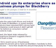 pocketgamer消息:RIM企业市场份额占66% 超过iPhone