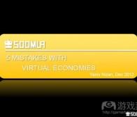 开发者应该避免的游戏经济5大误区