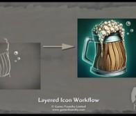分享混合题材的游戏UI设计方法