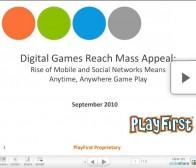 Playfirst:男性玩家和女性玩家在游戏类型和时间上的差异