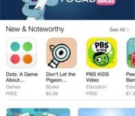 """每日观察:关注App Store""""儿童""""应用版块(6.18)"""