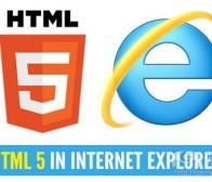 阐述HTML5定义及IE浏览器的技术支持