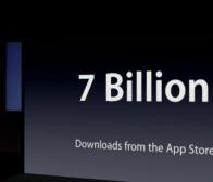 短讯:苹果APP store实现了70亿的应用程序下载量