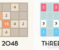 为什么《2048》比《Threes》更成功?