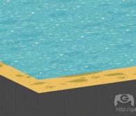 分享用像素艺术和3D制作静态水体的经验