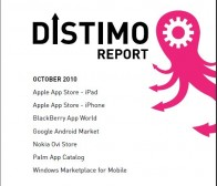distimo发布了2010年10月版各大手机应用商店监测报告