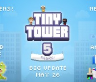 每日观察:关注新游Bejeweled Skies和Tiny Tower五周年5.03