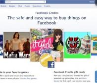 Facebook Credits现身英国零售商店开始国际化进程